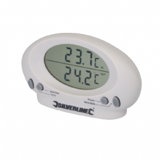 Silverline 675133 Indoor/Outdoor Thermometer